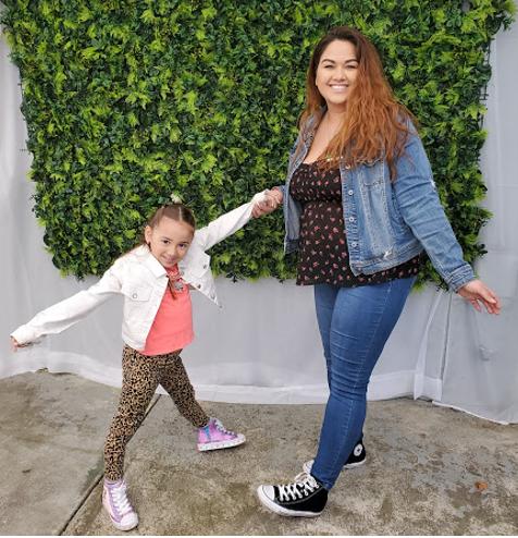 Sara and daughter